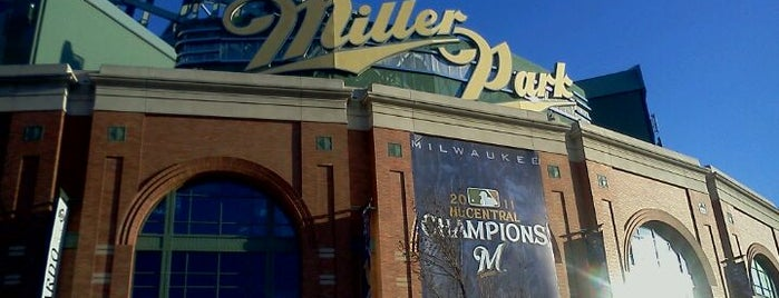 Miller Park is one of Milwaukee's Best Spots!.