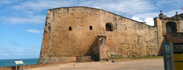 Castillo San Cristóbal is one of ♪ En Mi Viejo San Juan ♫.