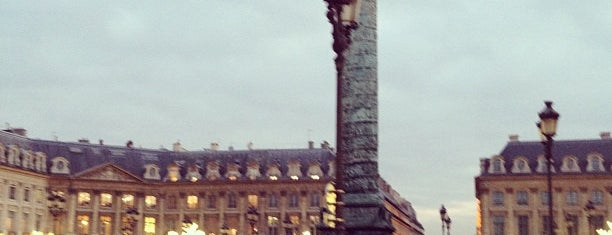 Place Vendôme is one of Most beautiful squares in Paris.