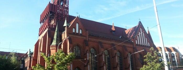 Kościół św. Elżbiety Węgierskiej is one of Wroclaw to see/eat/drink (Poland).