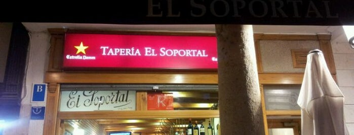 El Soportal is one of CAST. LEON ★ Comer ★.