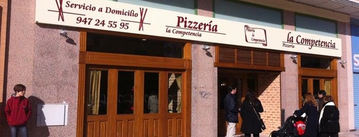 La Competencia Pizzeria is one of Lugares guardados de Priscilla.
