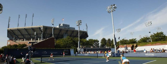 Court 9 - USTA Billie Jean King National Tennis Center is one of US Open Courts.