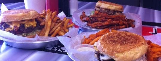 Jax Burgers is one of Orte, die Gil gefallen.