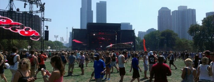 Lollapalooza Perry's Stage is one of 2 do list # 2.