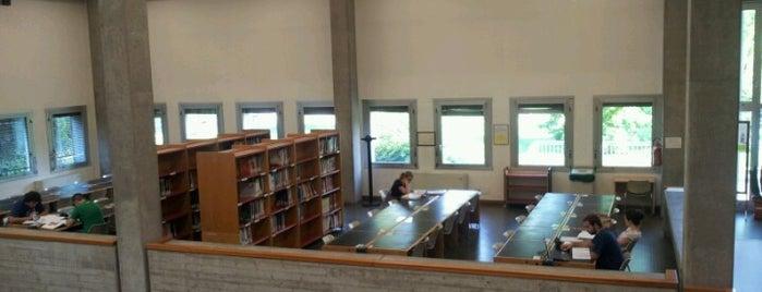 Biblioteca Meneghetti is one of Locais curtidos por Dennis.