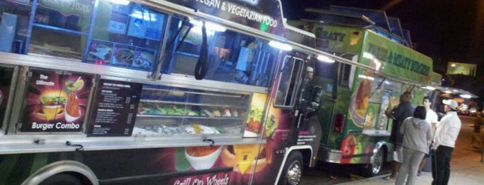 The Granada Hills Gourmet Food Trucks Explosion (Food Trucks Row) is one of USA.