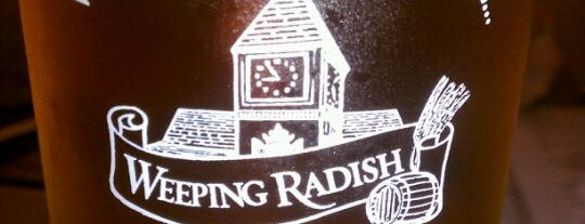 Weeping Radish Farm Brewery is one of Breweries.