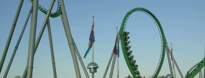 The Incredible Hulk Coaster is one of My vacation @Orlando.