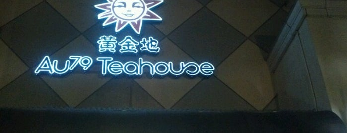 AU 79 Tea House is one of Been there, done that.