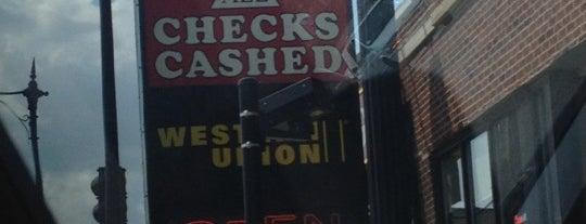 A All Check Cashing is one of David : понравившиеся места.