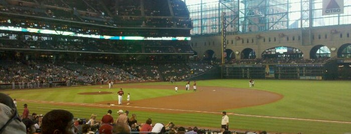 Minute Maid Park is one of Take Me Out.
