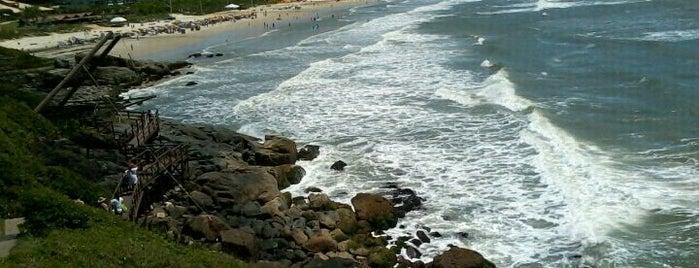 Praia do Santinho is one of Florianópolis.
