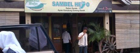 RM Sari Rasa (Sambel Hejo) is one of Bandung Food Foursquare Directory.