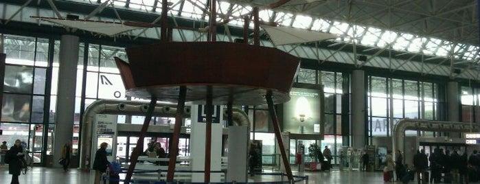 """Aeroporto Roma Fiumicino """"Leonardo da Vinci"""" (FCO) is one of Airports of the World."""