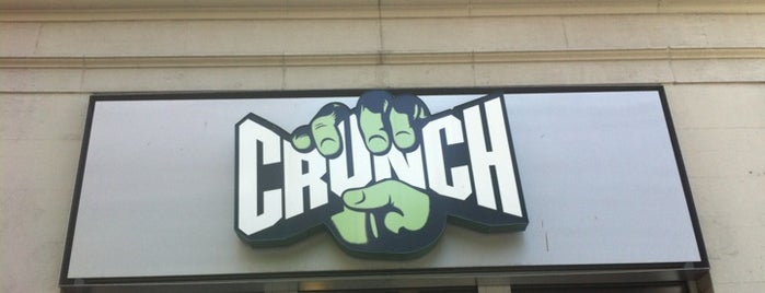 Crunch Fitness - Union Square is one of Brian 님이 좋아한 장소.
