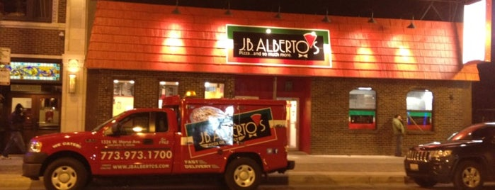 J.B. Alberto's Pizza is one of Chicago, IL.