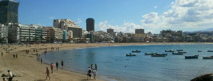Playa de Las Canteras is one of Gran Canaria.
