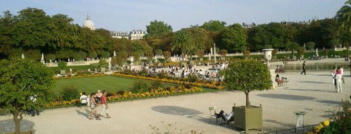 Jardin du Luxembourg is one of Paris.