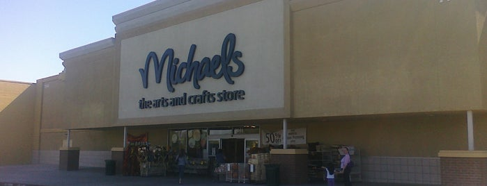 Michaels is one of Tempat yang Disukai Step.