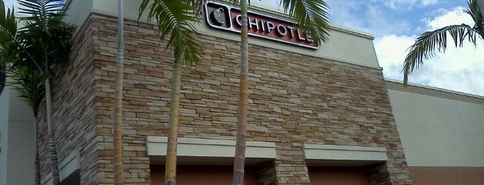 Chipotle Mexican Grill is one of Boca Food.