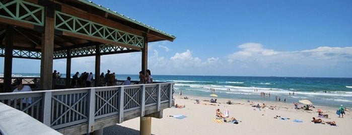South Beach Pavillion Park is one of Outdoor faves in Palm Bch.