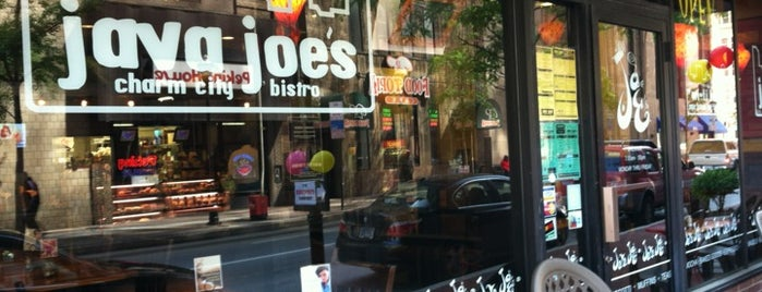 Java Joe's is one of Baltimore.