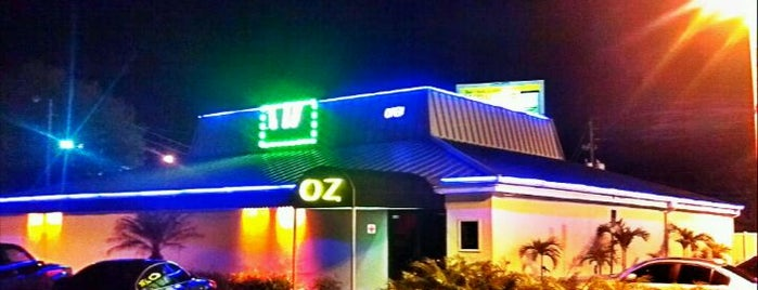 Oz Gentlemen's Club is one of Cigar Friendly Tampa Bay.