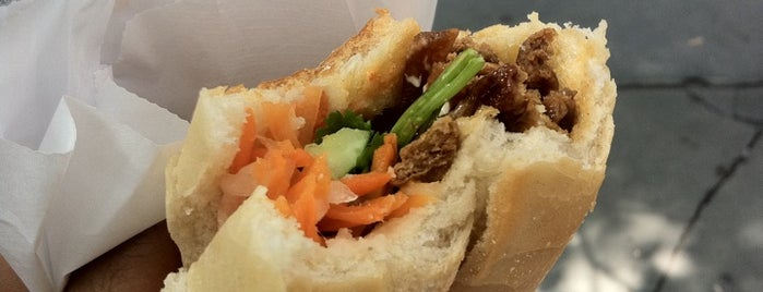 Lotus Vietnamese Sandwiches is one of Where I Go In Park Slope.