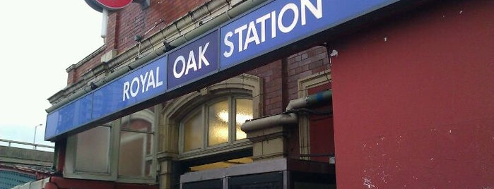 Royal Oak London Underground Station is one of Underground Stations in London.