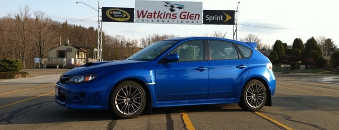 Watkins Glen International is one of Fingerlakes Transport an Tour Service.