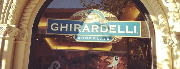 Ghirardelli Chocolate Marketplace is one of The Best of San Francisco!.