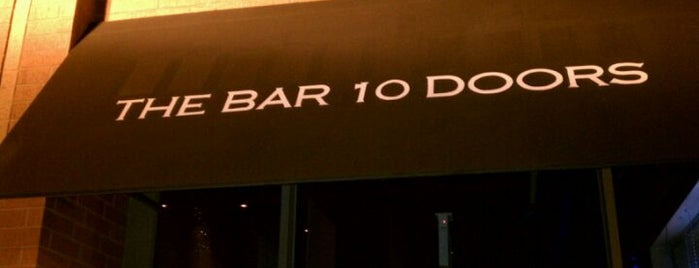 The Bar 10 Doors is one of Official Blackhawks Bars.