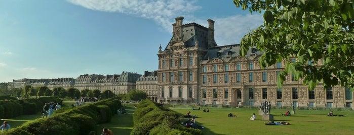 Jardin des Tuileries is one of Quatre jours à Paris.