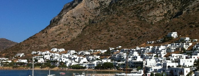 Sifnos Port is one of Get Them to The Greek.