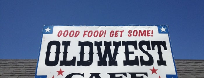 Old West Cafe is one of Sanger.