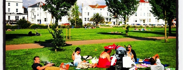 Southsea Common is one of Lugares favoritos de Carl.