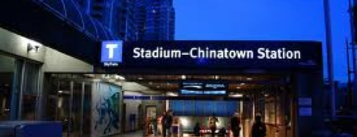 Stadium - Chinatown SkyTrain Station is one of Translink Champion Badge.