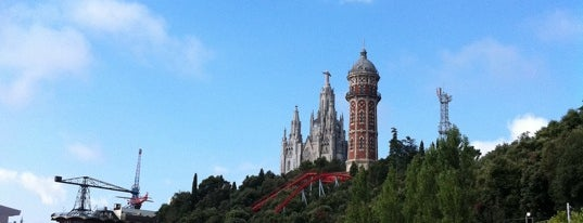 Tibidabo is one of Favorite places in Barcelona.