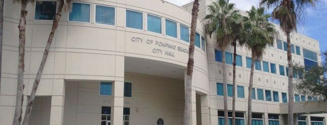 City of Pompano Beach City Hall is one of Kourosさんの保存済みスポット.