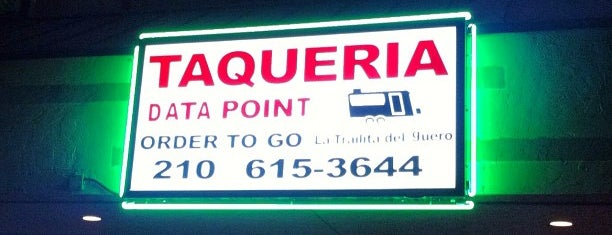 Taqueria Data Point is one of TX 2018.