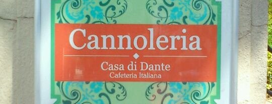 Cannoleria Casa di Dante is one of Cafés.