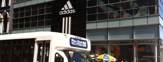 adidas Brand Flagship Center is one of For NYC Shopaholics.