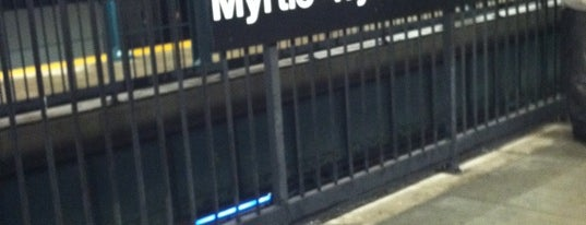 MTA Subway - Myrtle/Wyckoff Ave (L/M) is one of Locais curtidos por Jason.
