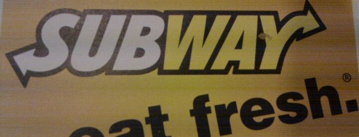Subway is one of Favorite Spots.