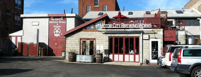 Motor City Brewing Works Inc is one of Breweries to Visit.