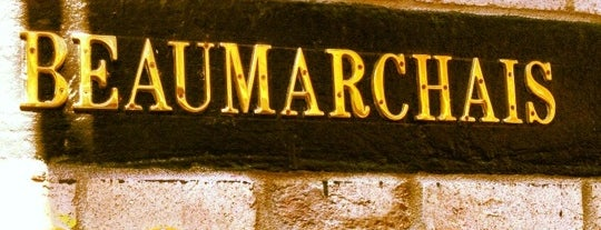 Beaumarchais is one of Brunch & Lunch NYC.