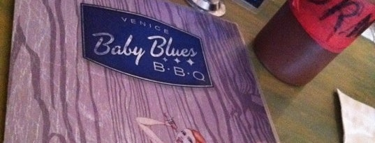 "Baby Blues BBQ - Venice is one of ""Diners, Drive-Ins & Dives"" (Part 1, AL - KS)."