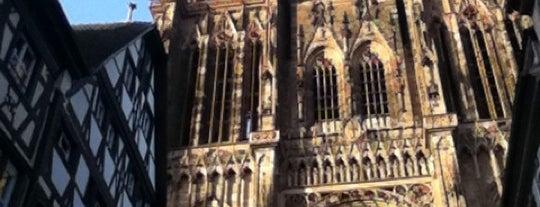 Cathédrale Notre-Dame de Strasbourg is one of Bienvenue en France !.