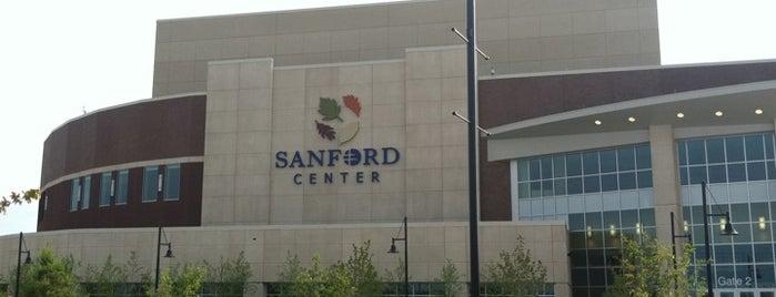 Sanford Center is one of Bemidji.